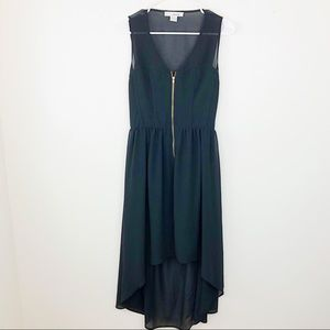 Open Back Hi Low Dress